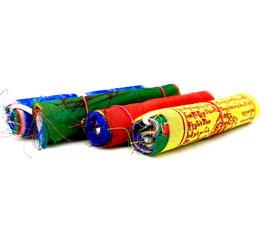 Banderines tibetanos de tela