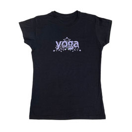 Playera Yoga - NEGRO