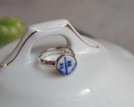 Ring Silber gefasst