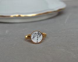 Ring gold gefasst