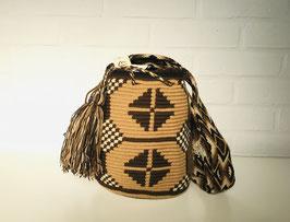 ALICE Kleine Mochila tas handgemaakt door Colombiaanse Wayuu vrouwen