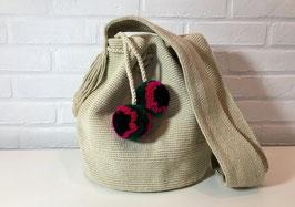EVITA Mochila tas handgemaakt door Colombiaanse Wayuu vrouwen