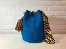 IRIS Mochila tas handgemaakt door Colombiaanse Wayuu vrouwen