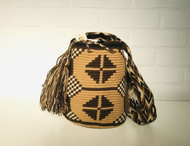 ASTRID Small Mochila bag handcrafted by Colombian Wayuu women