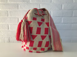 CARLA Mochila bag handcrafted by Colombian Wayuu women