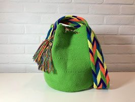 ZINNIA Mochila bag handcrafted by Colombian Wayuu women