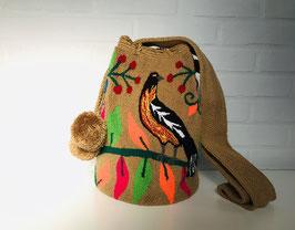 PARADISE Mochila bag handcrafted by Colombian Wayuu women