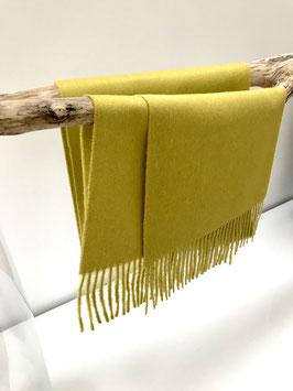 Alpaca sjaal - 100% Baby Alpaca - Donkergeel
