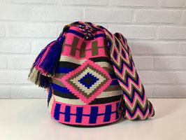GINNA Mochila tas handgemaakt door Colombiaanse Wayuu vrouwen