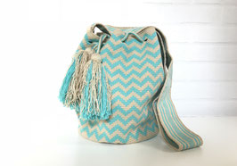 HANNAH Mochila bag handcrafted by Colombian Wayuu women