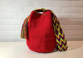 RUBY Mochila bag handcrafted by Colombian Wayuu women