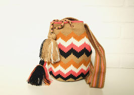 ALICE Small Mochila bag handcrafted by Colombian Wayuu women