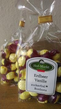 Erdbeere Vanille BonBon - Zuckerfrei