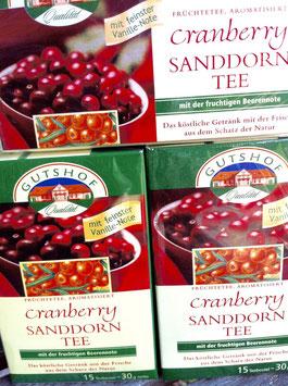 Sanddorn-Cranberry Tee