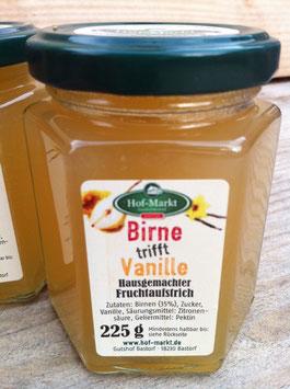 Birne-Vanille Fruchtaufstrich