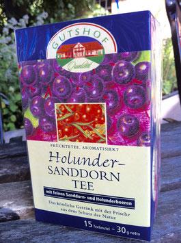 Holunder-Sanddorn-Tee