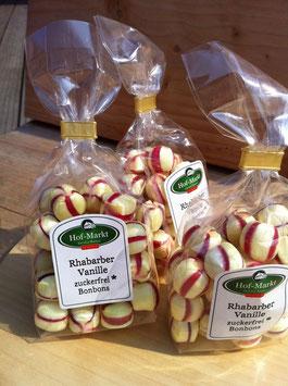 Rhabarber Vanille zuckerfrei