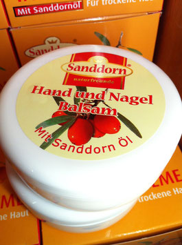 Hand & Nagel Balsam | Mit Sanddorn Öl