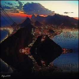 Rio a noite