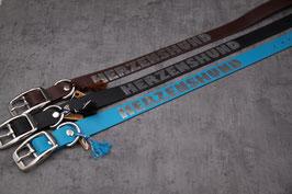"""Halsband """"Herzenshund"""" silber"""
