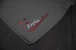 """Halstuch """"Frohe Weihnachten + Sterne"""""""