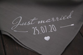 "Halstuch ""Just married"""