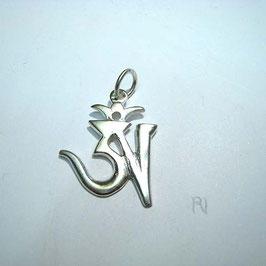 OM Anhänger Silber (tibetisch)