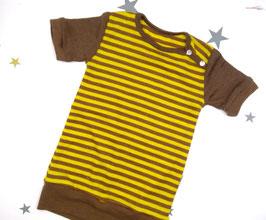 """T-Shirt, Bio Wolle Seide, 92/98, """"gestreift"""""""