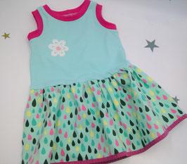 Kleid für Mädchen, Größe 74-92