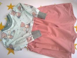 Jerseykleid , Größe 92/98, BIO