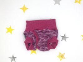 Split-Unterhose aus Bio Wolle Seide, Größe 56/62