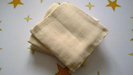 Mullwindel BIO Baumwolle, Spucktuch, 5 Stück