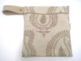 Windeltasche aus Wolle, 21x23 cm