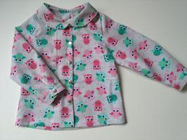 Hemd für Mädchen, Bluse 86/92