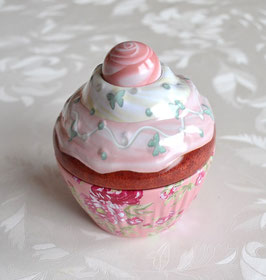 Cupe Cake rosa mit rosa Deckel