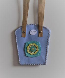 Pflanzen-Tasche violett mittel (2)