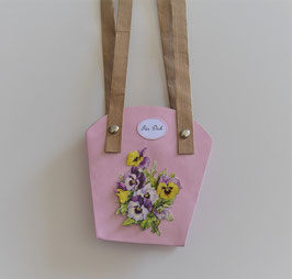 Pflanzen-Tasche klein flieder (1)