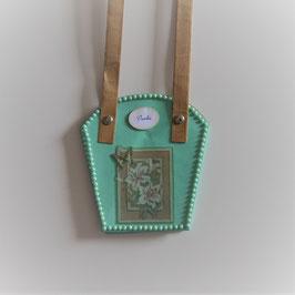Pflanzen-Tasche klein mint (2)