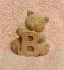 """Buchstabenbär """"B"""" rosa"""