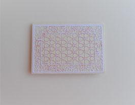 Geschenkkuvert mit rosa Glitter
