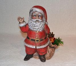 Nikolaus stehend mit blauen Augen