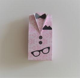 Hemdbox groß rosa