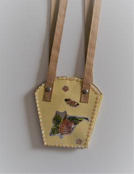 Pflanzen-Tasche klein hellgelb (2)