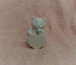 Herzbär weiß