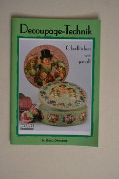 Decoupage-Technik Bastelideen