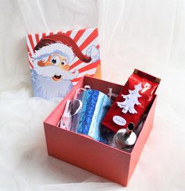 Teegeschenkbox Nikolaus rot