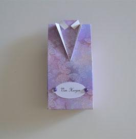 Hemdbox klein lila
