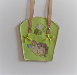 Pflanzen-Tasche groß hellgrün (1)