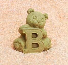 """Buchstabenbär """"B"""" braun"""