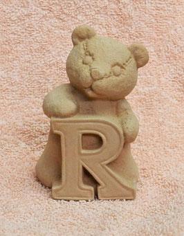 """Buchstabenbär """"R"""" rosa"""
